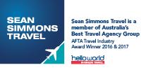 Sean Simmons Travel Pty Ltd Logo