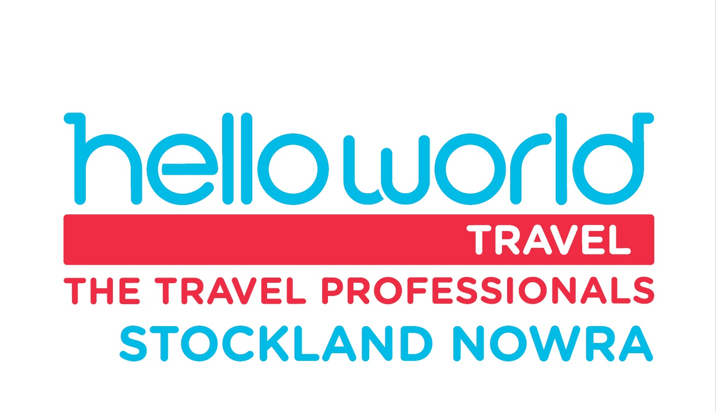 Helloworld Travel at Stockland Nowra Logo