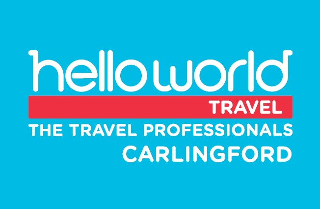 Helloworld Travel Carlingford Logo