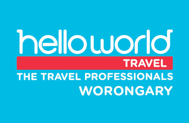 Helloworld Travel Worongary Logo