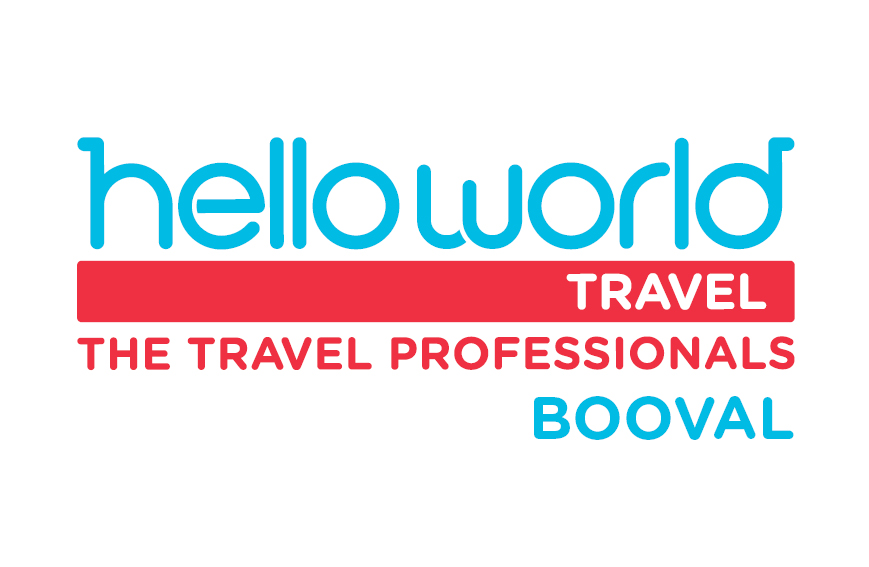 Helloworld Travel Booval Logo