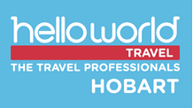 Helloworld Travel Hobart Logo