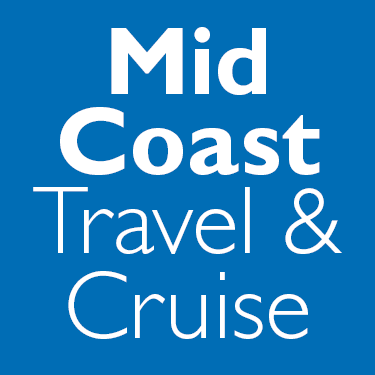 Mid Coast Travel & Cruise Logo