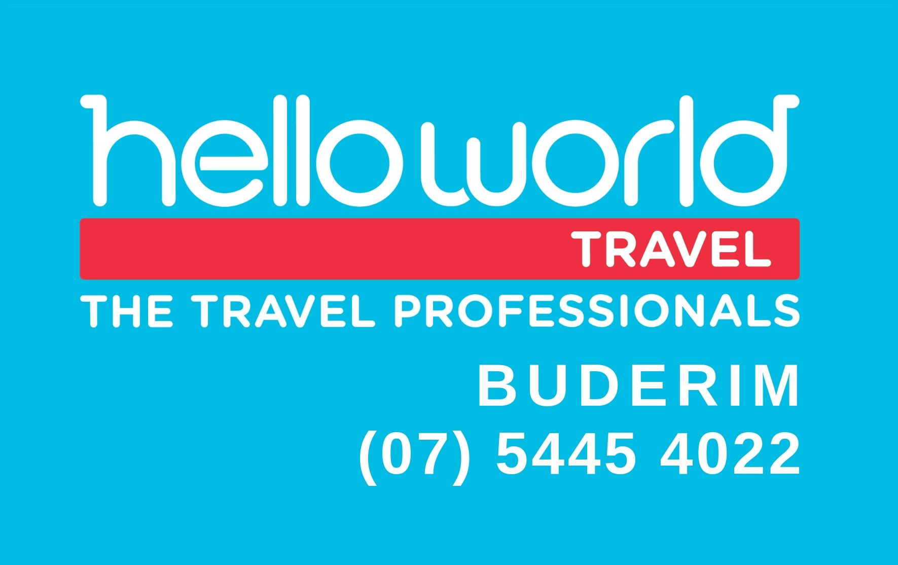Helloworld Travel Buderim Logo