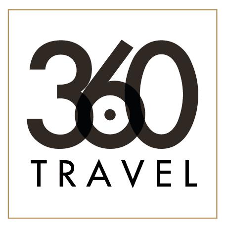 Three Sixty Degrees Travel Logo