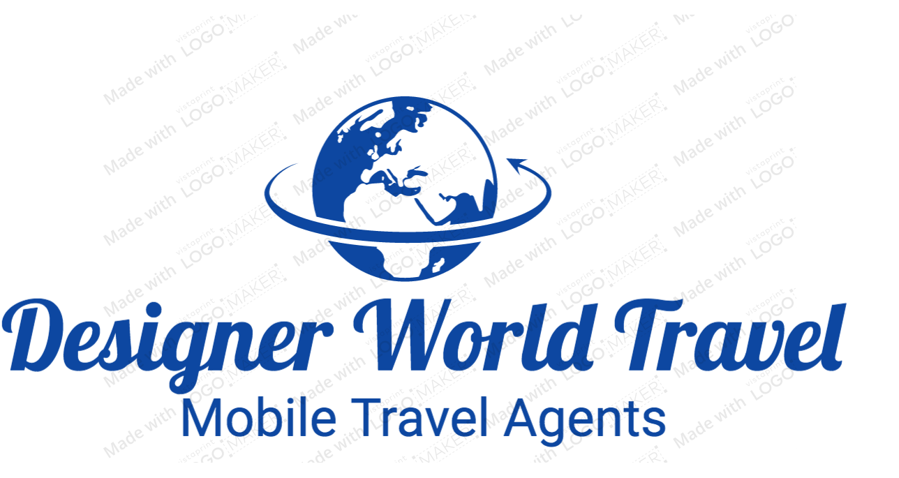 Designer World Travel Logo