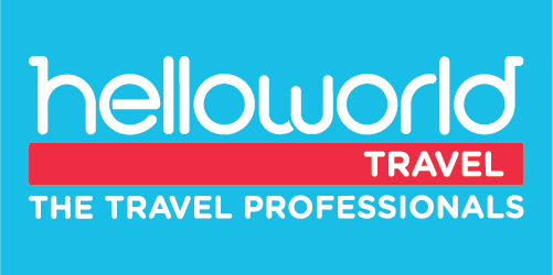 Helloworld Travel Rosebud Plaza Logo