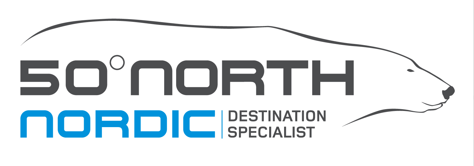 50 Degrees North (NORD Journeys) Logo