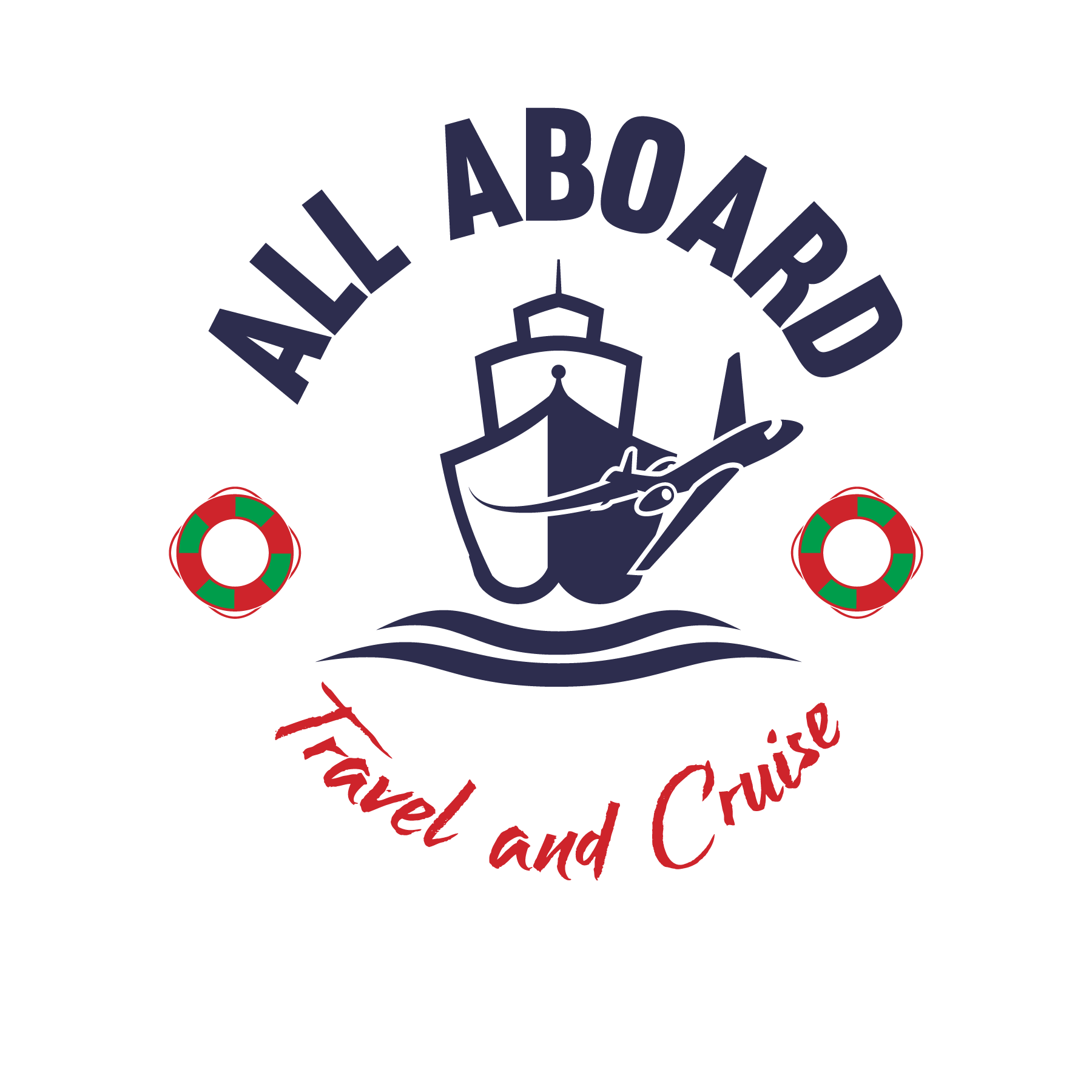 All Aboard Travel and Cruise Logo