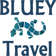 Bluey Travel & Uluru Travel Logo