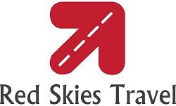 Red Skies Travel Logo