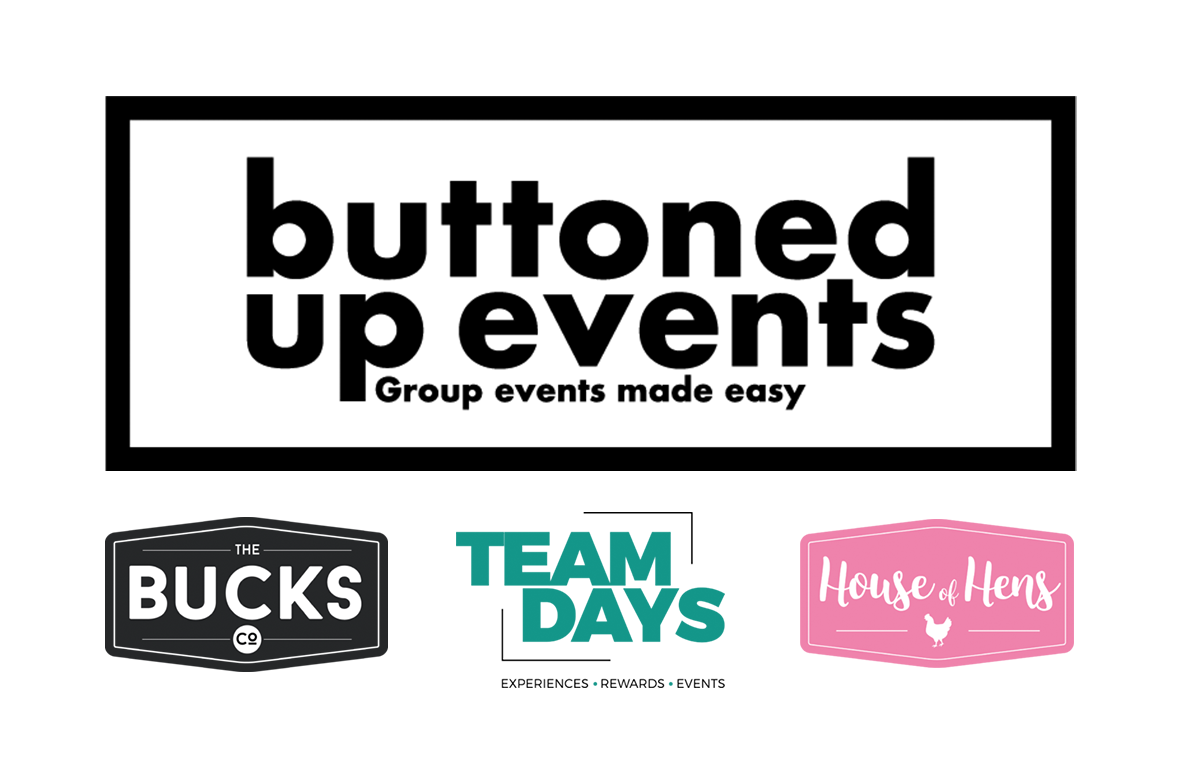 Buttoned Up Events (The Bucks Co, Team Days, House of Hens) Logo