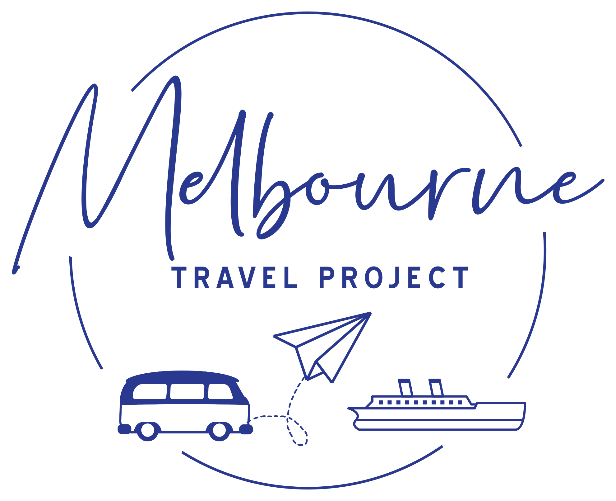 Melbourne Travel Project Logo