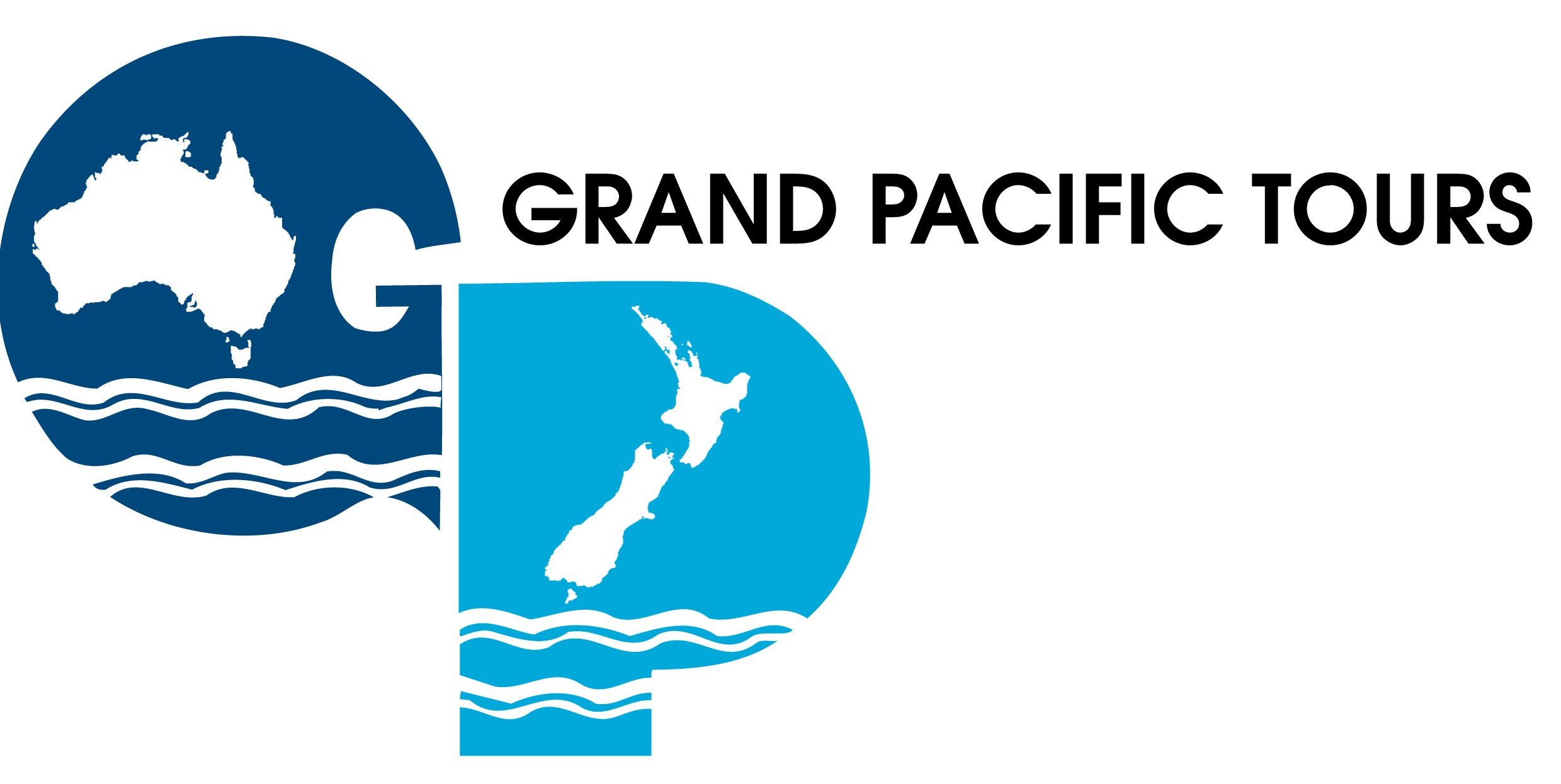 GRAND PACIFIC TOURS Logo
