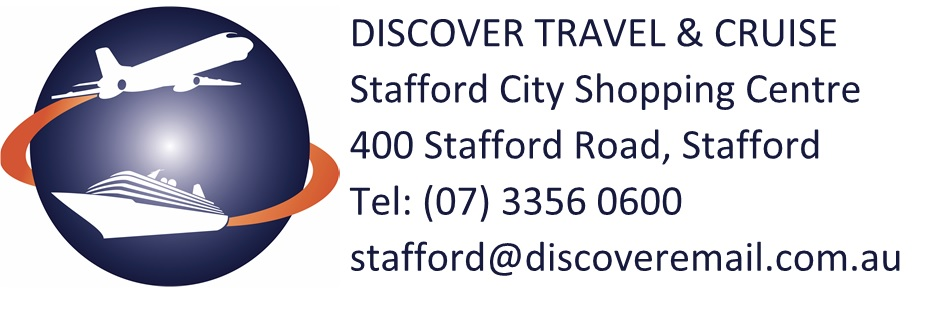 Discover Travel & Cruise Stafford Logo